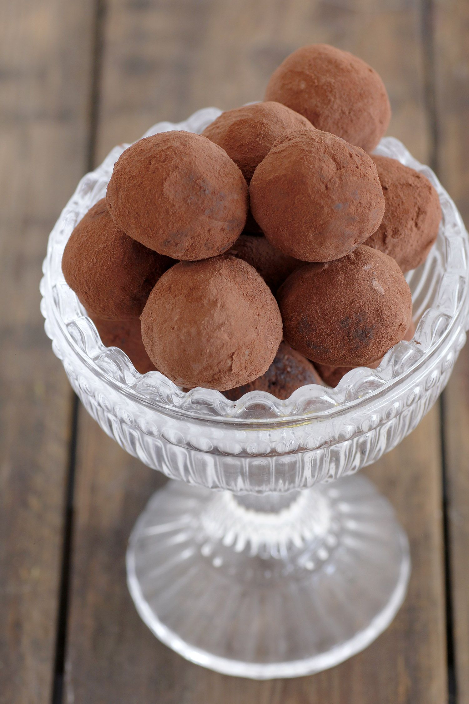 Vegan Chocolate Truffles with Dates
