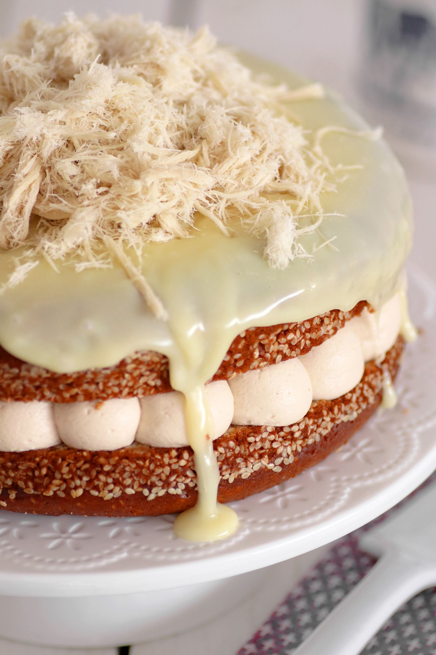 עוגת מסקרפונה, קפה וחלבה