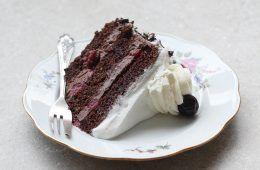 עוגת היער השחור | צילום: אפרת ליכטנשטט