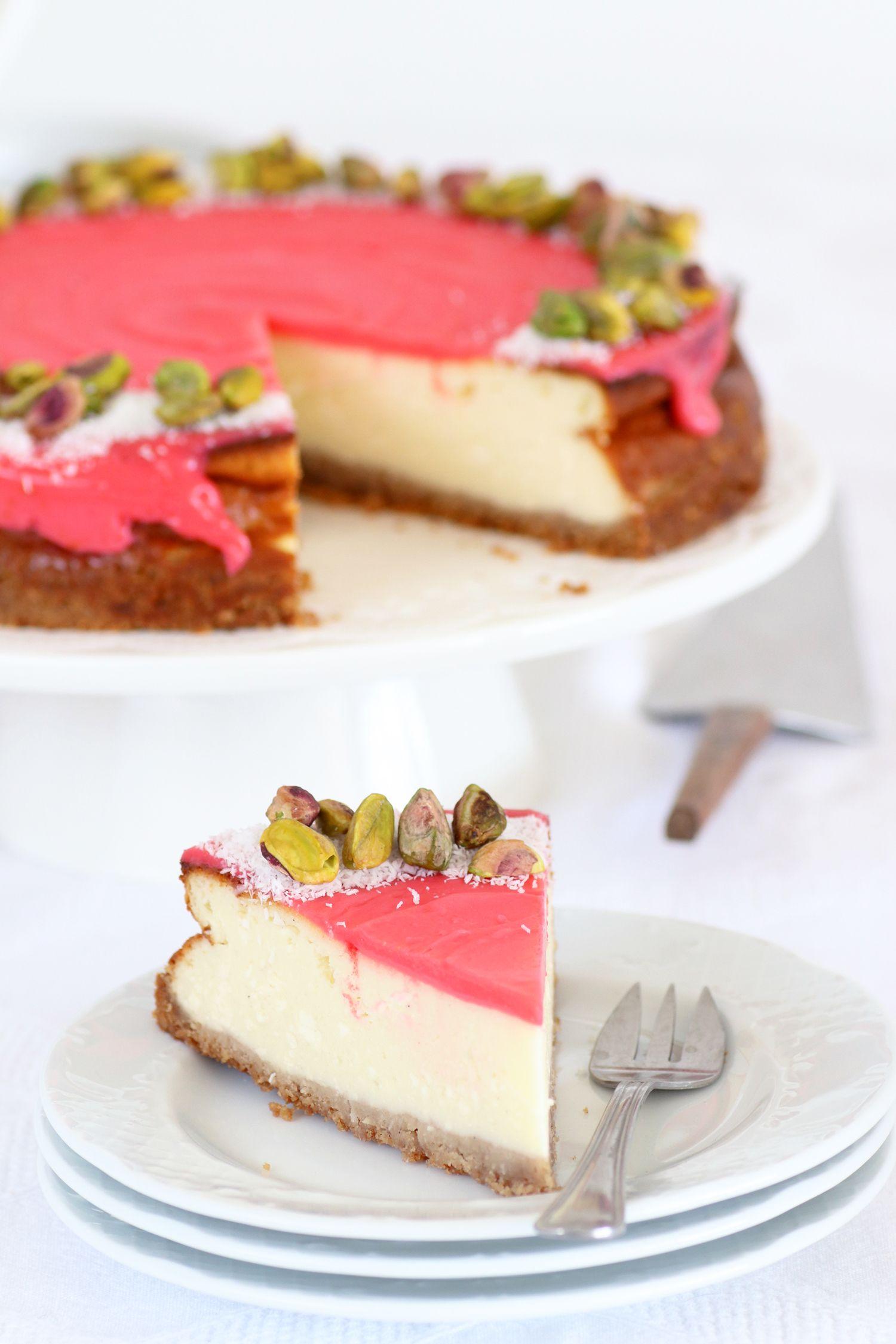 עוגת גבינה מלבי | צילום: נטלי לוין