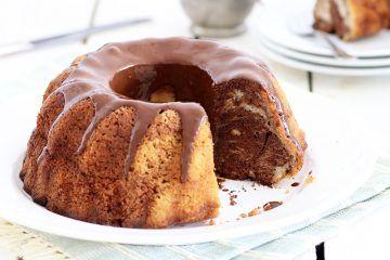עוגת שיש פרווה קלה | צילום: נטלי לוין