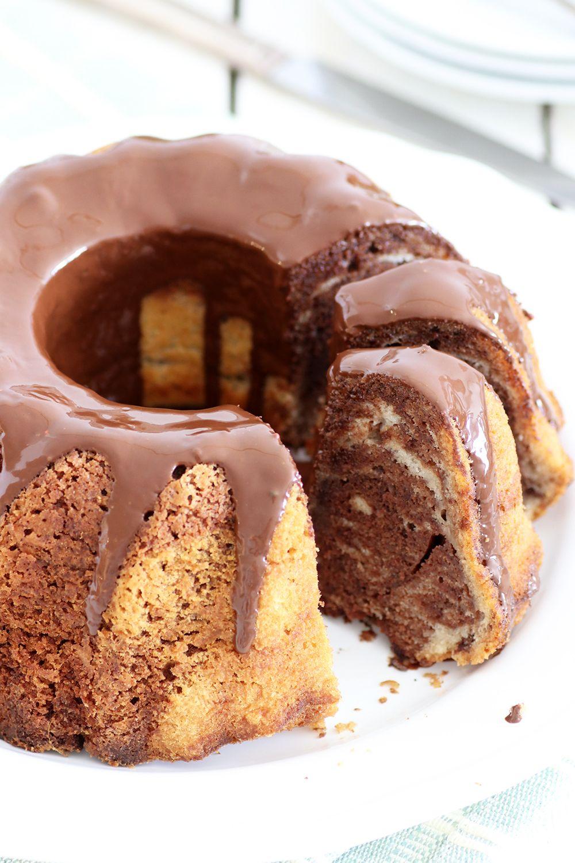 עוגת שיש פרווה קלה