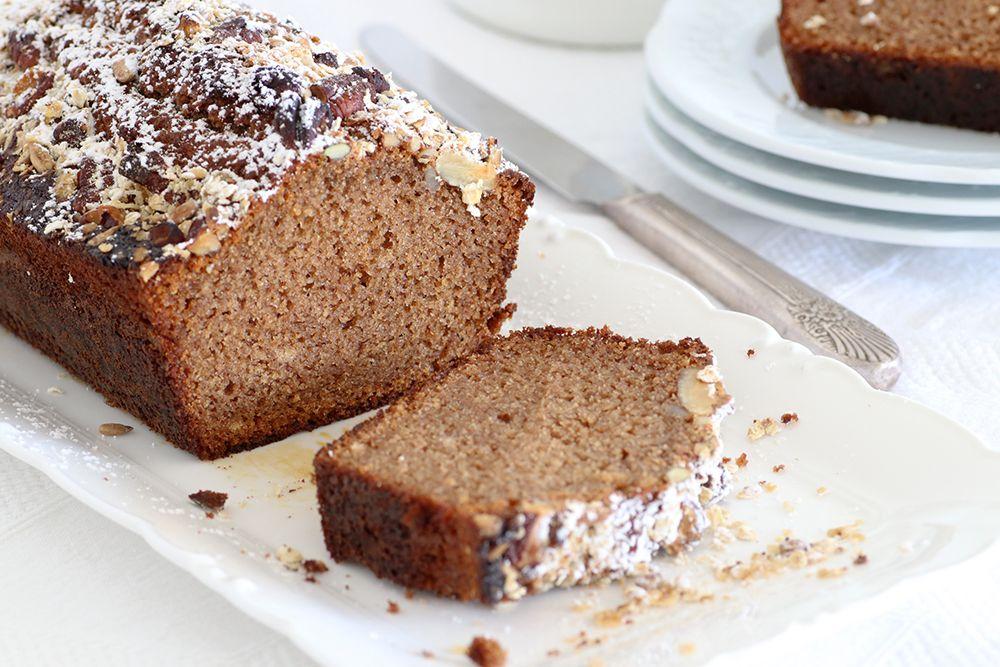 עוגת דבש עם ציפוי גרנולה קראנצ'י