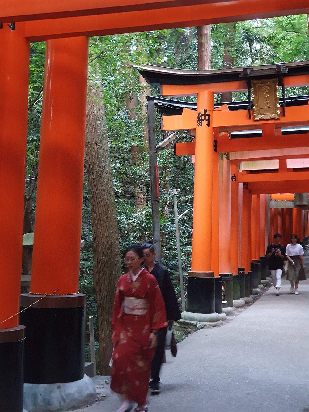 Fushimi Inari Temple בקיוטו