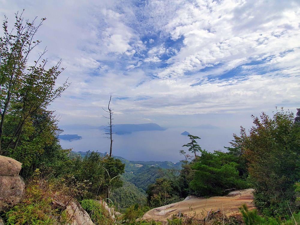 בטיפוס להר Misen