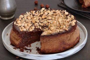 עוגת שוקולד ואגוזים איטלקית