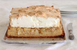 עוגת תפוחים ומרנג
