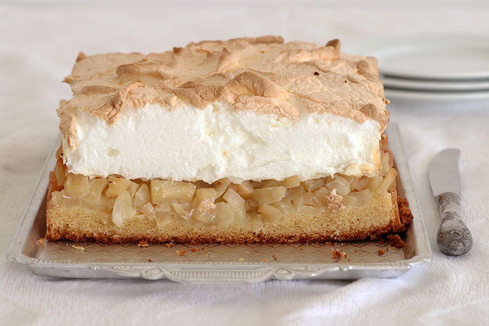 עוגת תפוחים ומרנג | צילום: נטלי לוין