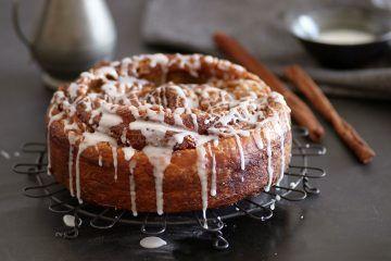 עוגת סינרול מבצק בריוש כרוך