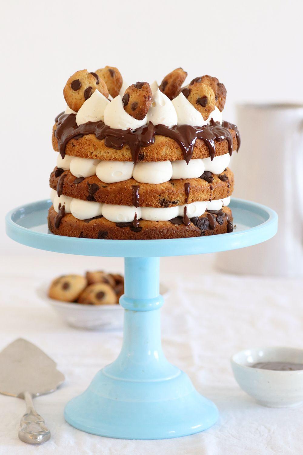 עוגת מילק אנד קוקיז | צילום: נטלי לוין