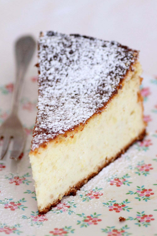 עוגת ריקוטה ושקדים | צילום: נטלי לוין