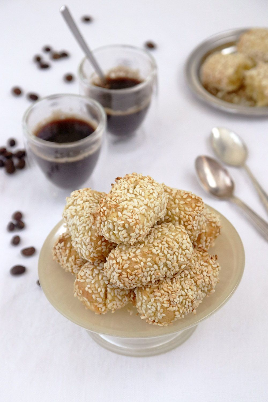 עוגיות המלכה – עוגיות שומשום איטלקיות Biscotti di Regina | צילום: נטלי לוין