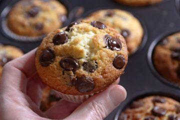 מאפינס שוקולד צ'יפס | צילום: נטלי לוין