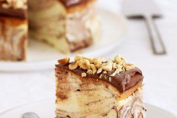 עוגת גבינה שיש | צילום: נטלי לוין