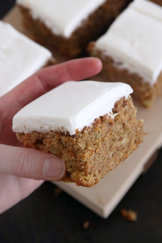 עוגת גזר וקרם פרש כמו בפורט סעיד   צילום: נטלי לוין