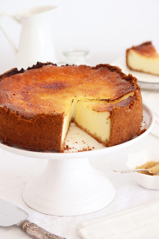 עוגת גבינה קרם ברולה | צילום: נטלי לוין