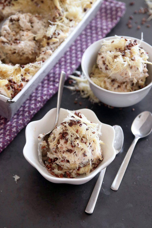 גלידת חלבה ושוקולד צ'יפס | צילום: נטלי לוין