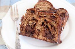 רולדת שמרים שוקולד פרווה (מקמח כוסמין מלא!) | צילום: נטלי לוין
