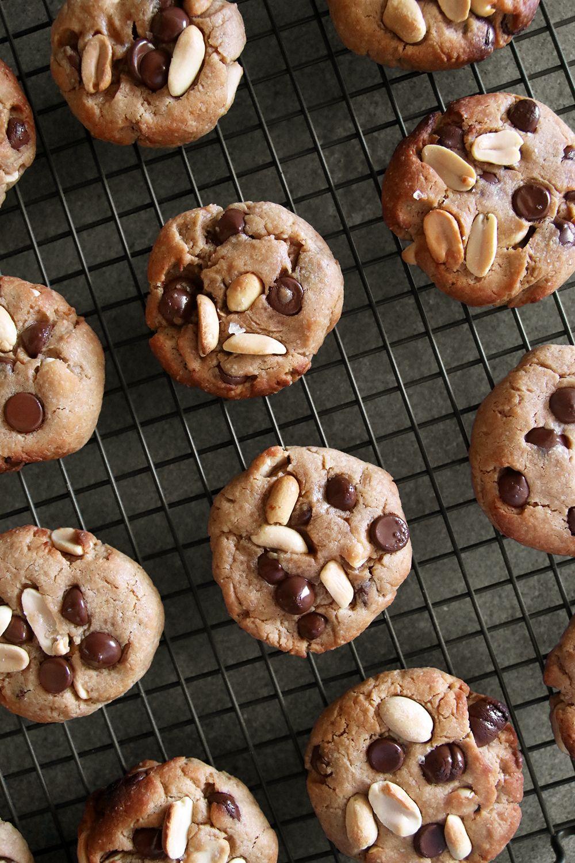 עוגיות שוקולד צ'יפס ובוטנים רכות   צילום: נטלי לוין