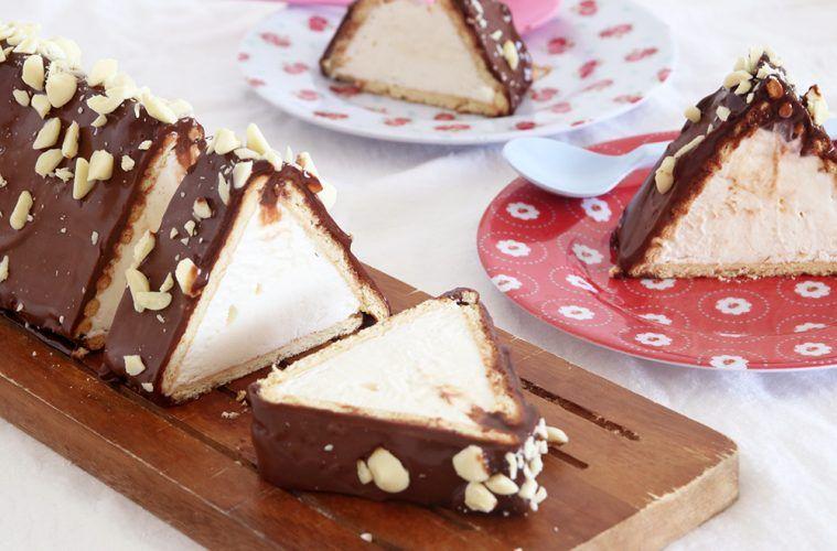 עוגת פירמידה ביסקוויטים | צילום: נטלי לוין