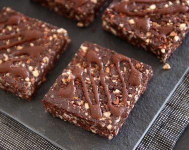 חטיפי אנרגיה שוקולדיים   צילום: נטלי לוין
