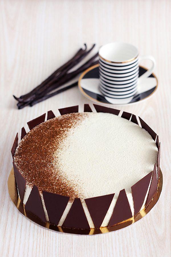עוגת מקלות וניל   צילום: ענבל לביא