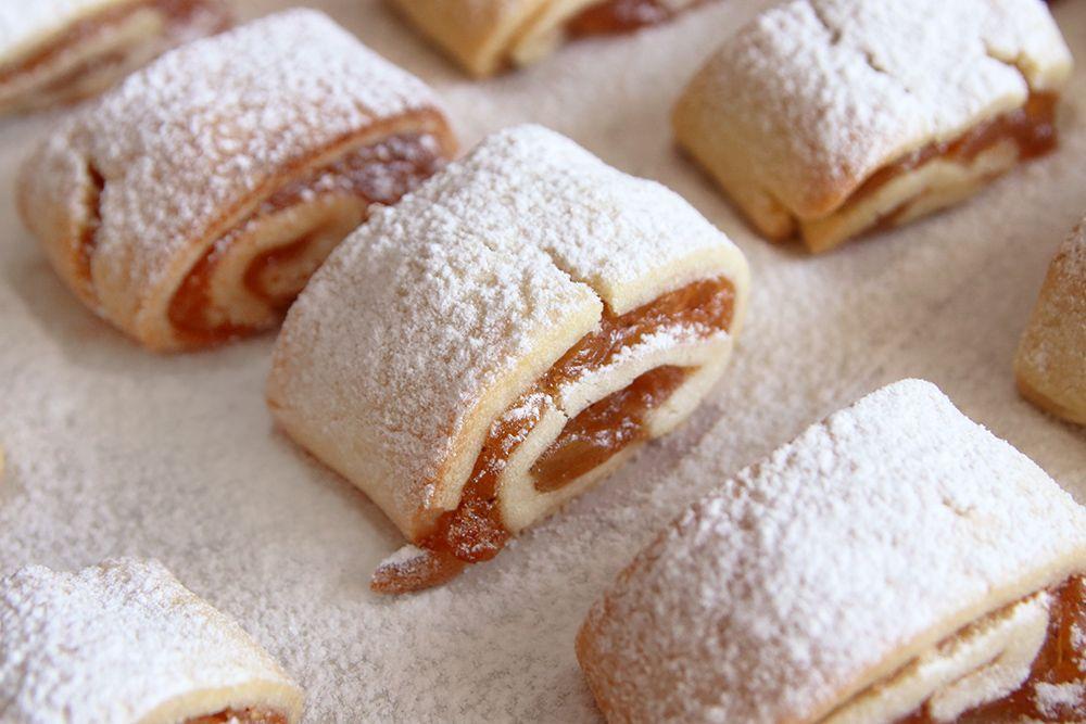 עוגיות מגולגלות פאי תפוחים | צילום: נטלי לוין