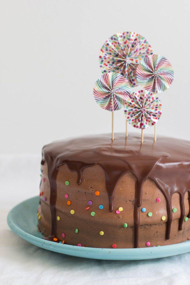 עוגת שכבות שוקולד ובננות מקורמלות   צילום: דור משה