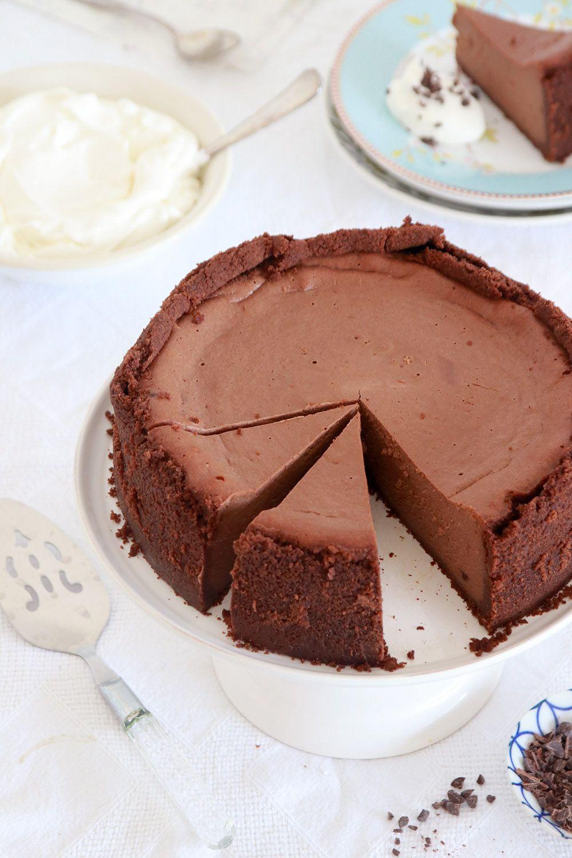 עוגת גבינה שוקולד | צילום: נטלי לוין