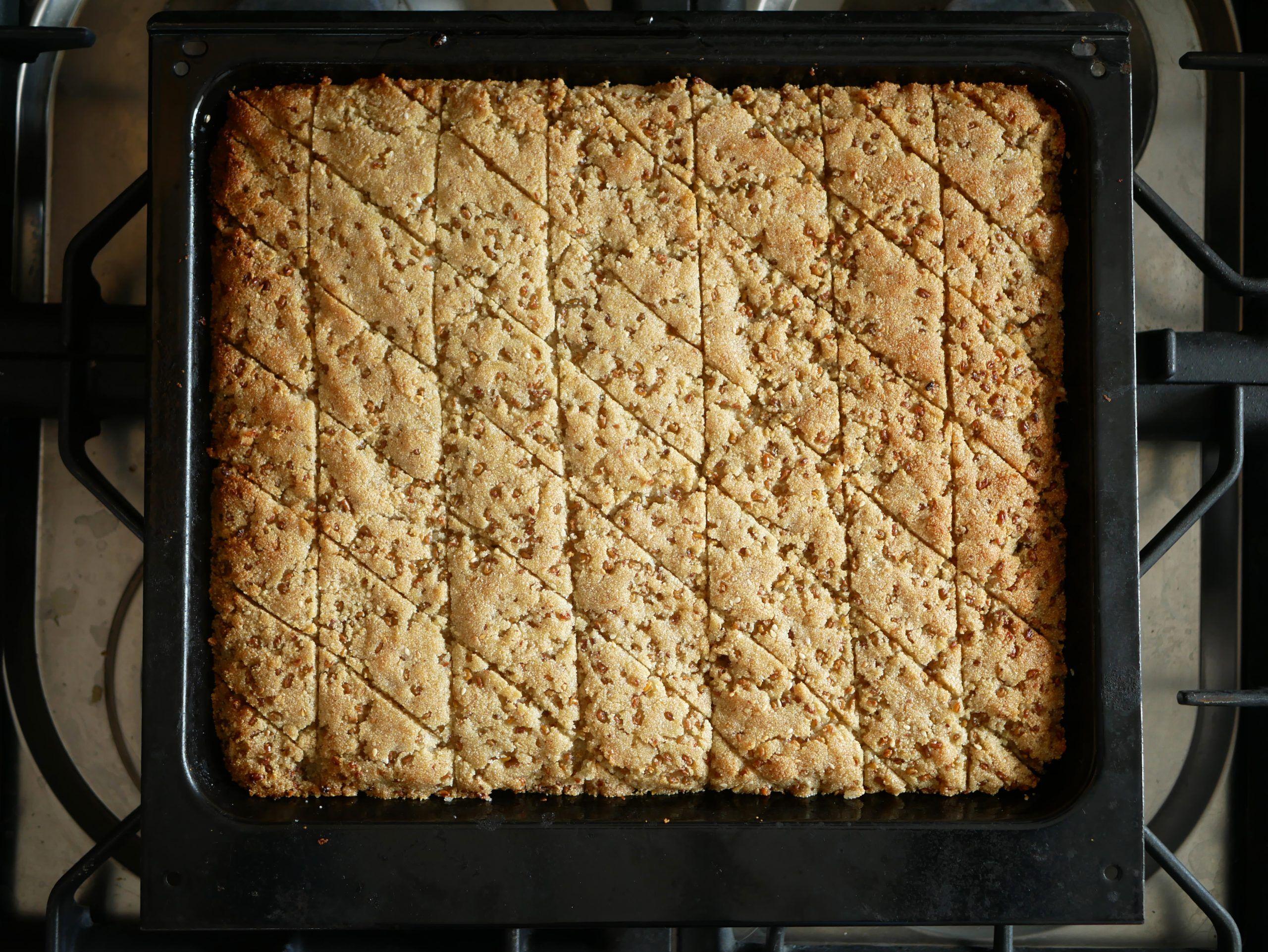 עוגת חילבה | צילום: חוסיין שאקרה