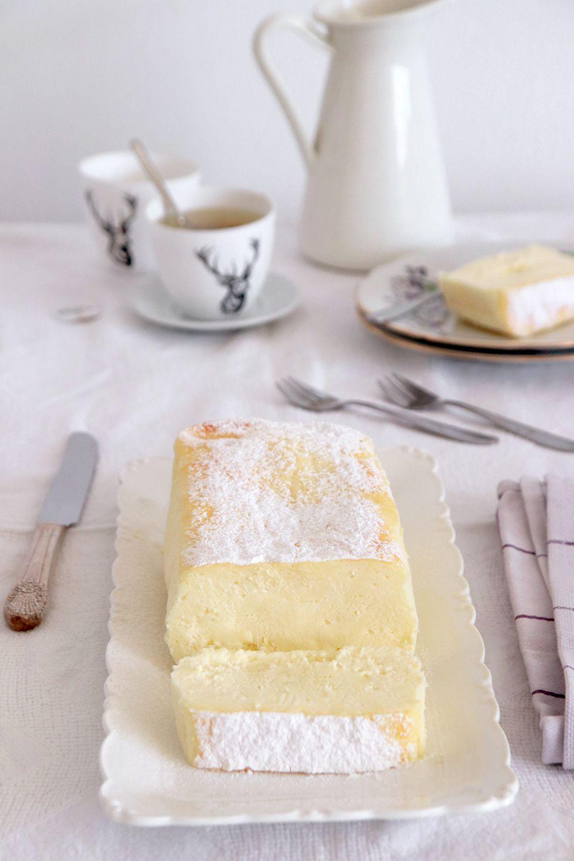 עוגת גבינה קרמית אפויה | צילום: נטלי לוין