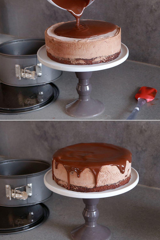 עוגת מוס שוקולד בשכבות | צילום: נטלי לוין