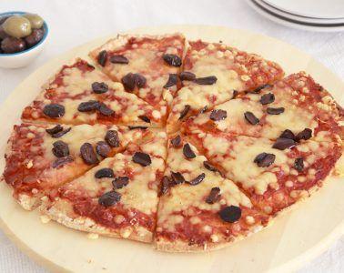 פיצה ביתית מ-2 מצרכים | צילום: נטלי לוין