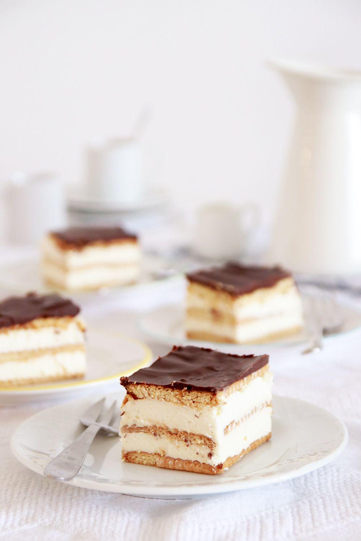 עוגת ביסקוויטים דלת שומן | צילום: נטלי לוין