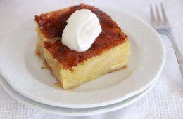 פורטוקלופיתה - עוגת תפוזים יוונית | צילום: נטלי לוין