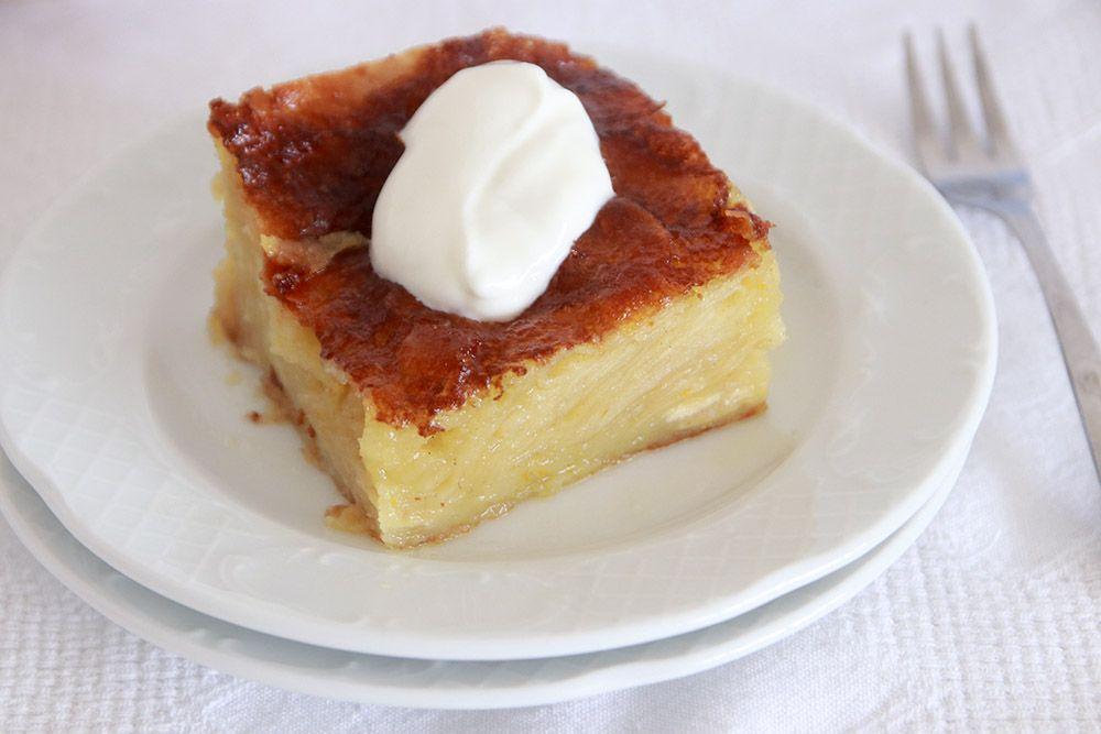 פורטוקלופיטה - עוגת תפוזים יוונית | צילום: נטלי לוין