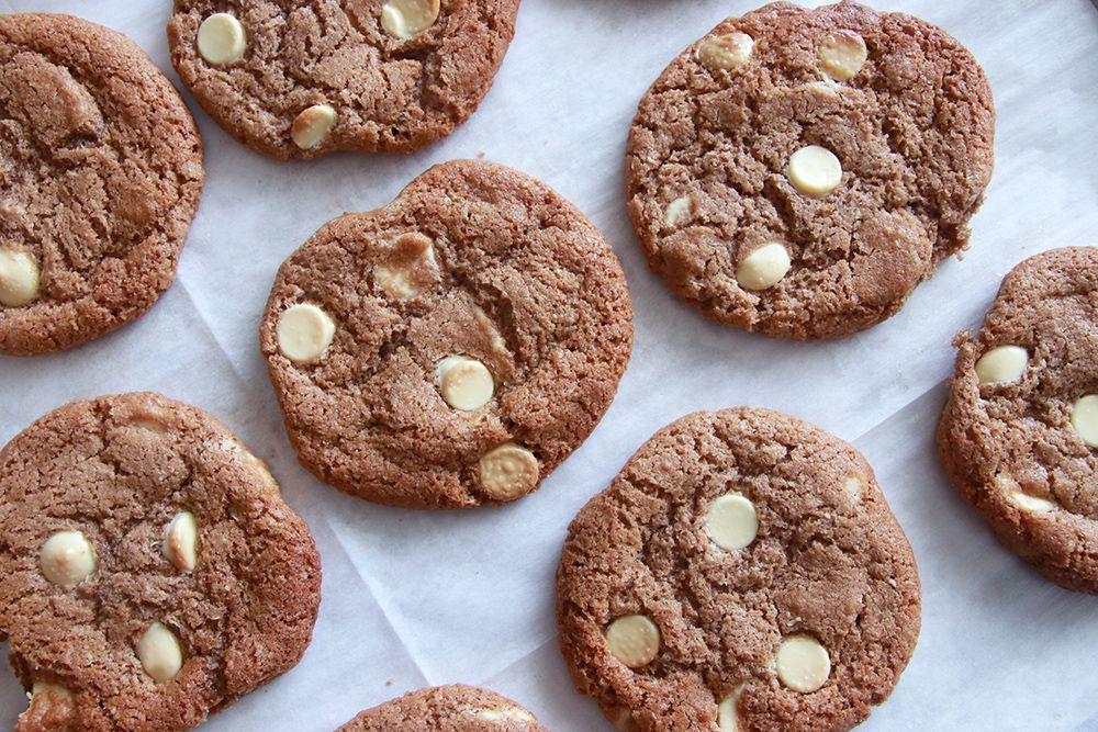 עוגיות קוקימן נוטלה ושוקולד לבן   צילום: נטלי לוין