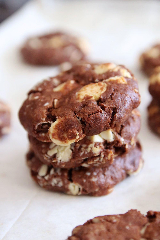 עוגיות שוקולד צ'יפס הפוכות | צילום: נטלי לוין