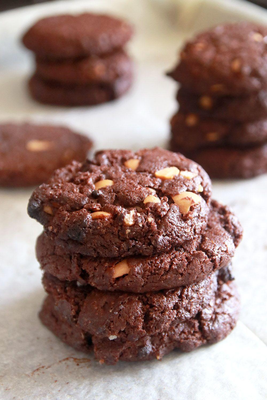 עוגיות שוקולד עם קבוקים | צילום: נטלי לוין