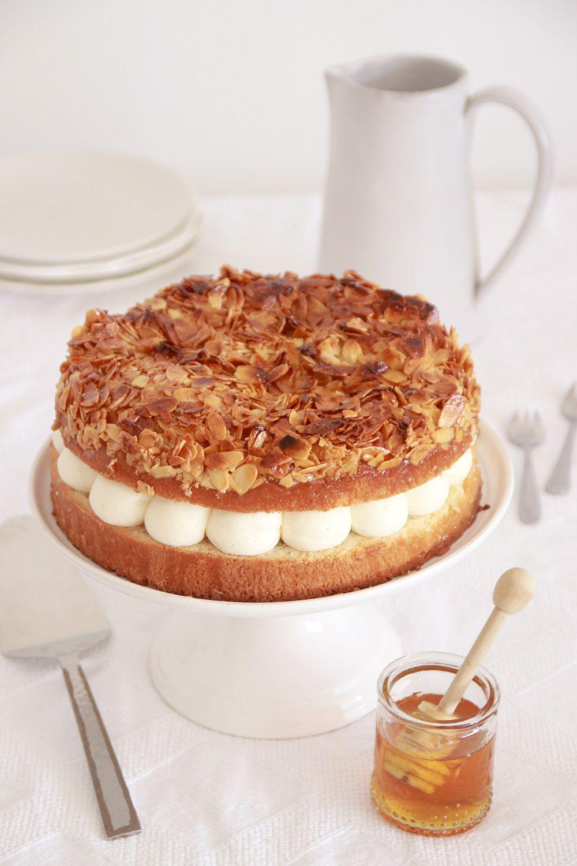 עוגת עקיצת הדבורה   צילום: נטלי לוין