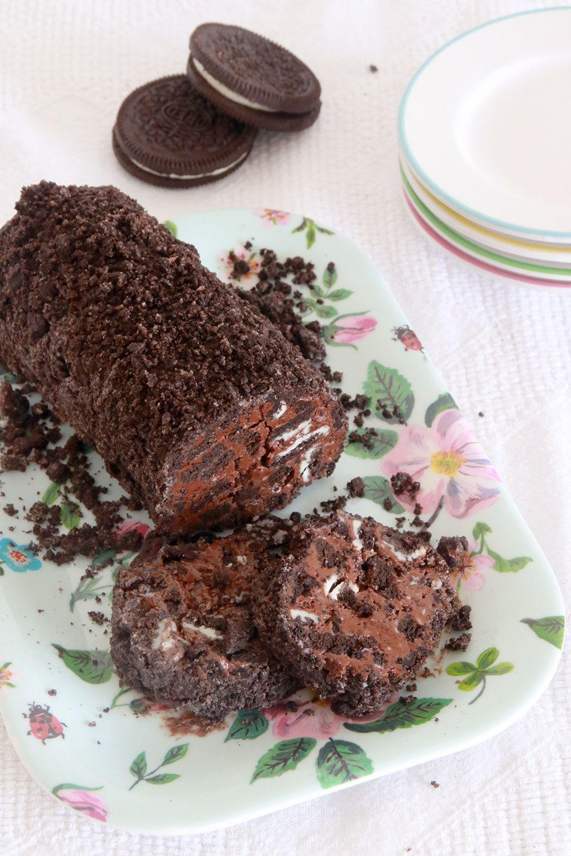 נקניק שוקולד אוראו   צילום: נטלי לוין