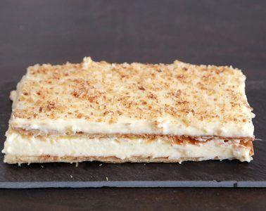 עוגת נפוליאון – קרמשניט   צילום: נטלי לוין